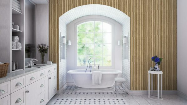 Cole and Son Caledonia Hamilton Wallpaper Bathroom