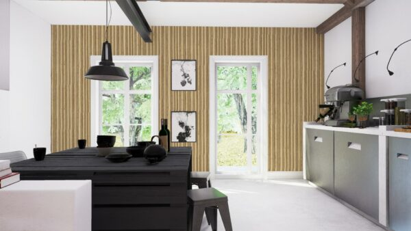 Cole and Son Caledonia Hamilton Wallpaper Kitchen