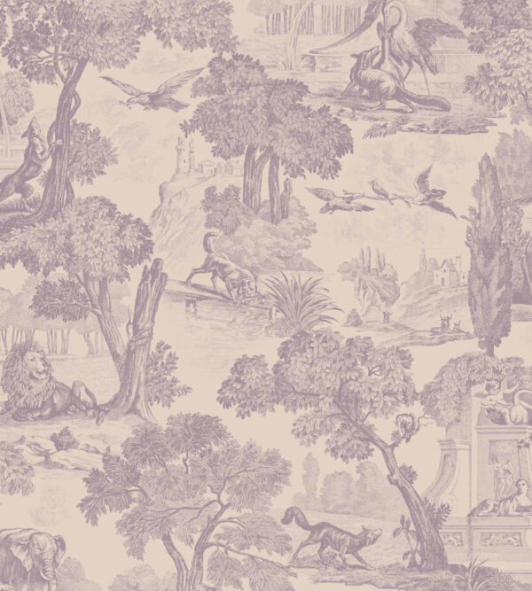 Cole & Son Versailles Mulberry Wallpaper
