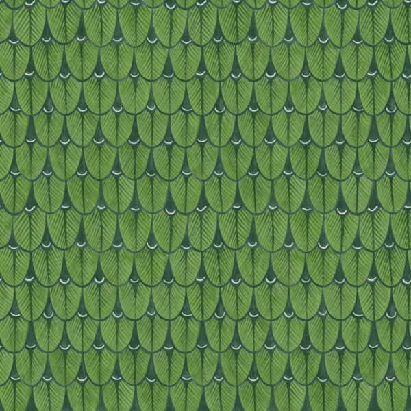 Cole & Son Narina Leaf Green Wallpaper