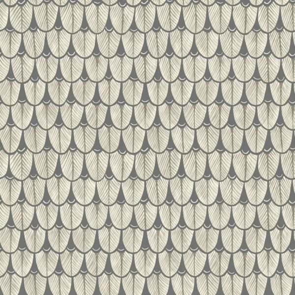 Cole & Son Narina Black and White Wallpaper