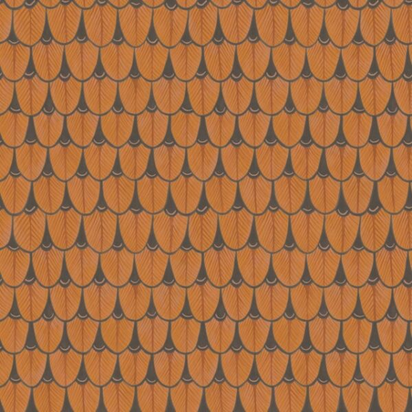 Cole & Son Narina Burnt Orange Wallpaper
