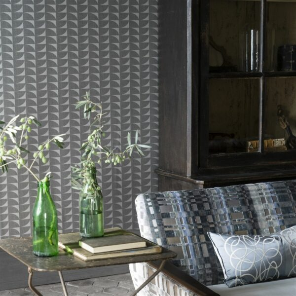 Designers Guild Laroche Noir Wallpaper