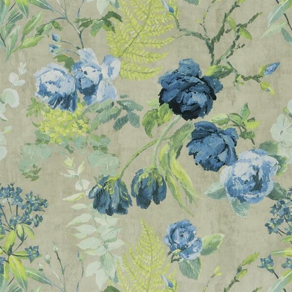 Designers Guild Flowers Wallpaper Tulipani Delft