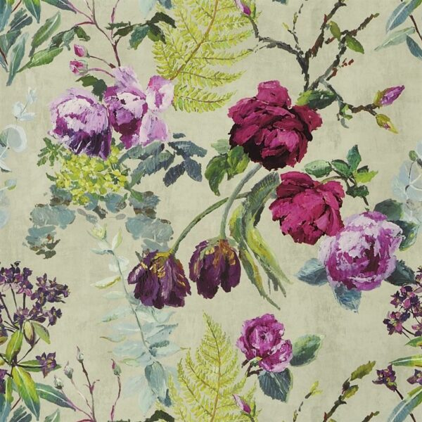 Designers Guild Flowers Wallpaper Tulipani Linen