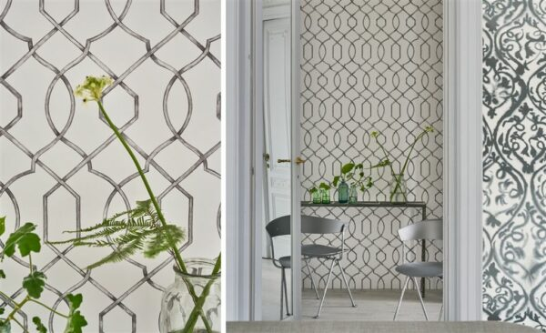 Designers Guild Geometric Rabeschi Wallpaper
