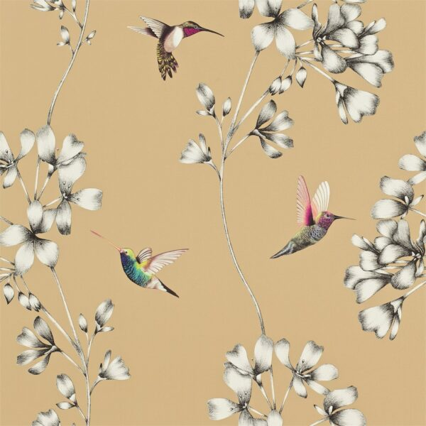 Harlequin Amazilia Wallpaper Bronze