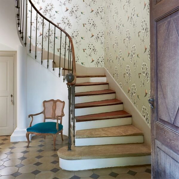 Harlequin Amazilia Wallpaper Stairs