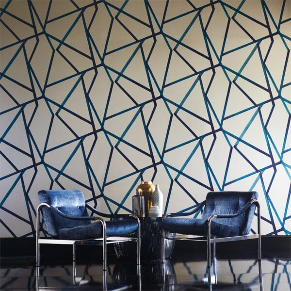 Harlequin Sumi Wallpaper Chairs