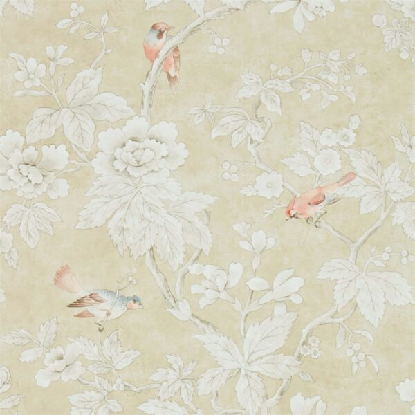 Sanderson Chiswick Grove Wallpaper Gold