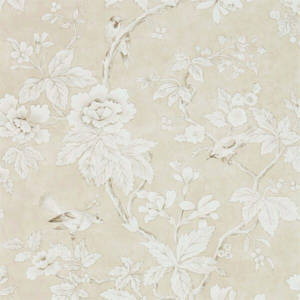 Sanderson Chiswick Grove Wallpaper Linen