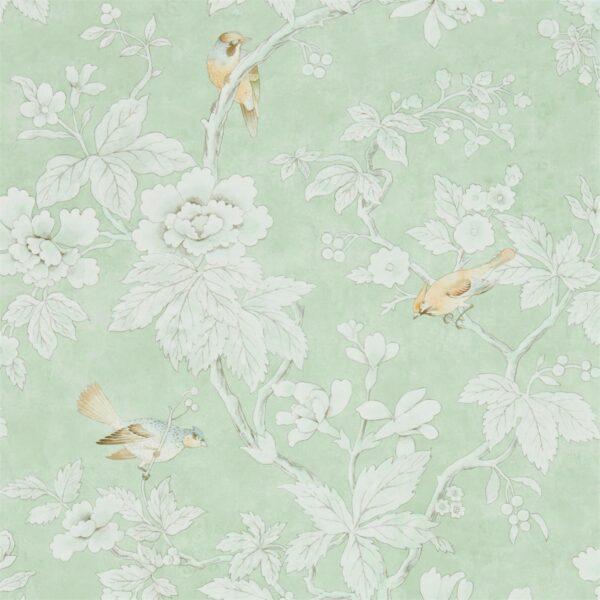 Sanderson Chiswick Grove Wallpaper Sage