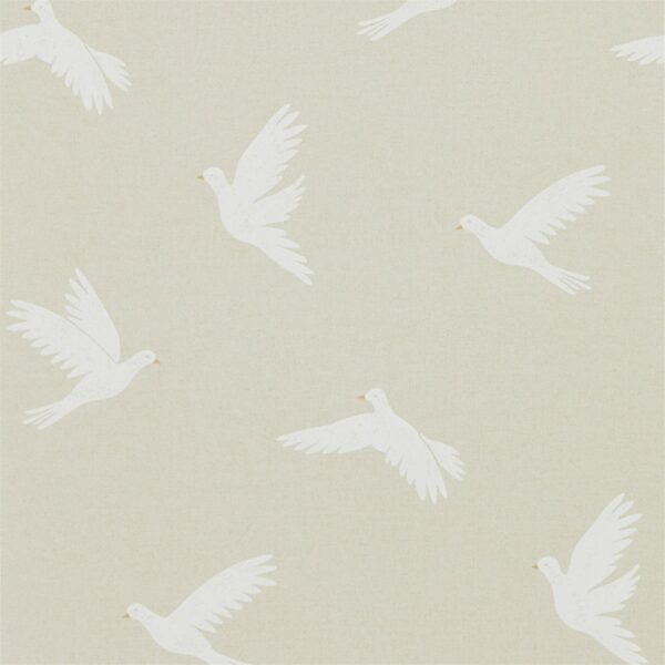 Sanderson Potting Room Paper Doves Wallpaper Linen