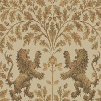 Cole & Son Boscobel Oak Metallic Gold-Oat 116-10037
