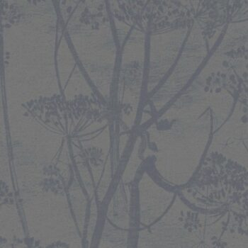 Cole & Son Cow Parsley Metallic Grey 95-9050