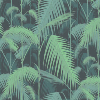 Cole & Son Palm Jungle Forest Green 95-1003