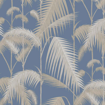 Cole & Son Palm Jungle Blue 95-1006