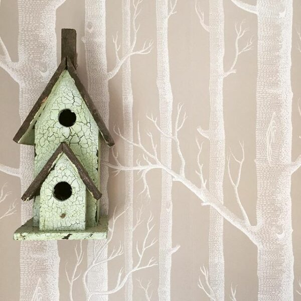 Cole & Son - Woods' Wallpaper - birdhouse